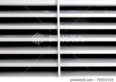 A ventilation grid in the refrigeration system, close up. 70953419