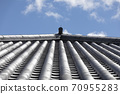 Roof tile and blue sky 70955283