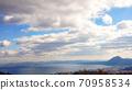 오이타 바다를 바라 보는 70958534