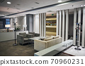 Spacious modern airport lounge for top-tier travelers 70960231