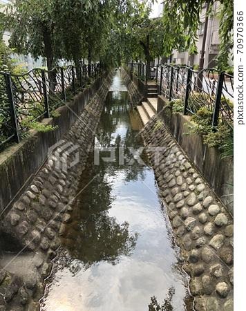 일본의 작은 수로 (두 개의 령 용수) 70970366