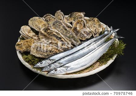 秋劍魚和牡蠣[秋天味道] 70978746