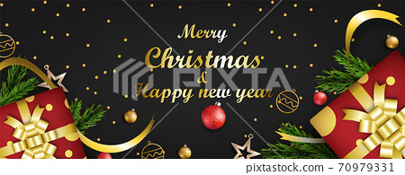 Merry christmas festival background 70979331