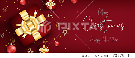 Merry christmas festival background 70979336