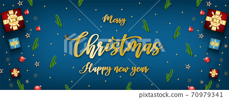 Merry christmas festival background 70979341