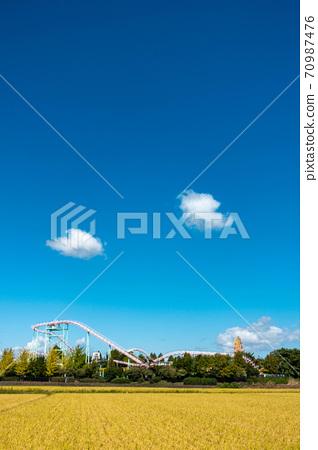 秋天的郡山文化公園 70987476