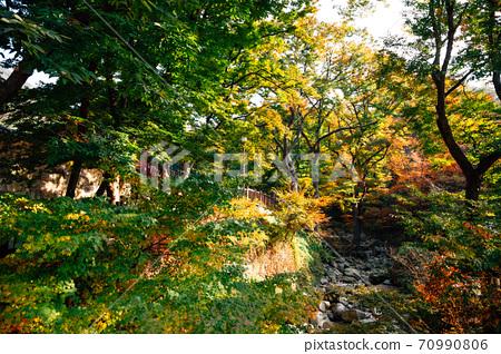 Bukhansan mountain in Seoul, Korea 70990806