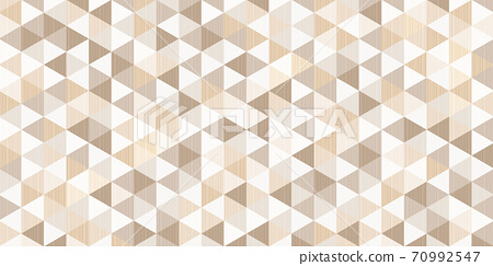 brown triangular pattern with line tracery inside, abstract geometric polygonal background 70992547