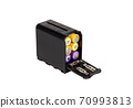 Battery pack adapter for camera. Battery case. 70993813