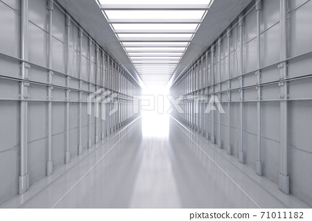 White factory interior 71011182