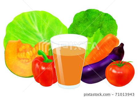 蔬菜汁 71013943