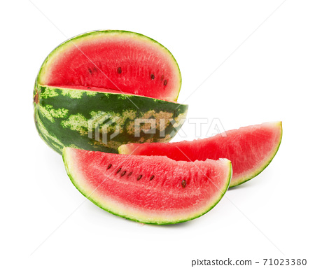 Watermelon on white 71023380