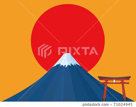 富士山 71024945
