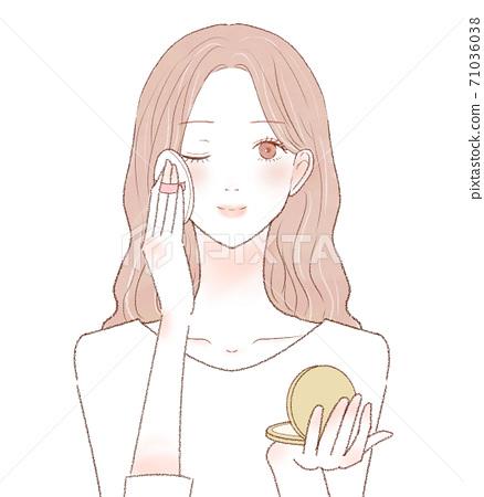 女士護膚粉 71036038