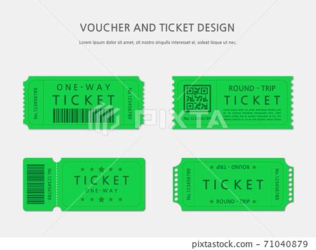 Ticket, Voucher, Gift Certificate 71040879