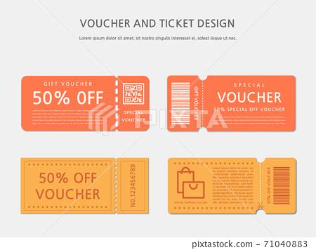 Ticket, Voucher, Gift Certificate 71040883