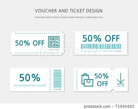 Ticket, Voucher, Gift Certificate 71040885