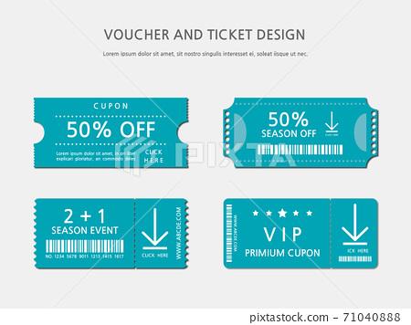 Ticket, Voucher, Gift Certificate 71040888