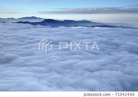 misty clouds 71042488