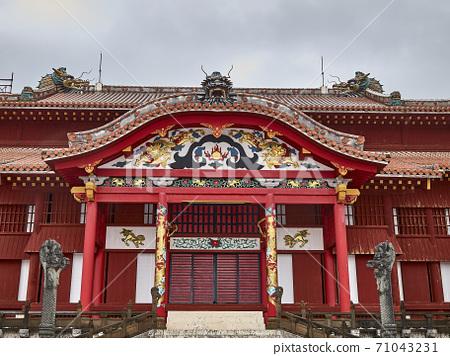 沖繩首里城 71043231