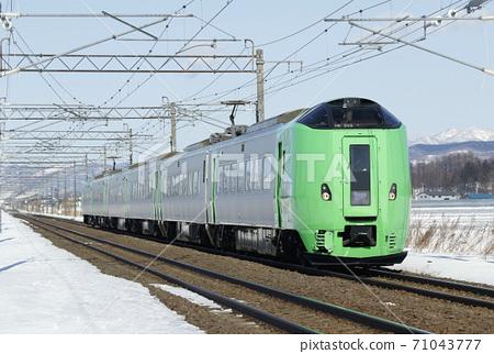 Limited Express Lilac Lilac Hakodate Main Line 71043777