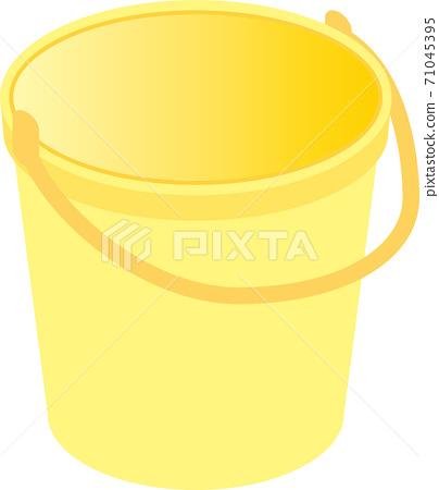 노란 양동이 71045395