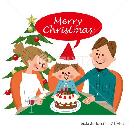 與家人的聖誕節 71046215