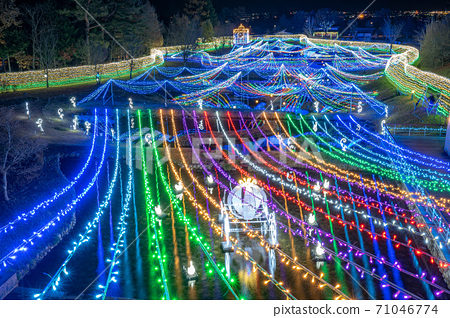 조명 国営아루뿌스あづみの公園 【나가노 현】 71046774