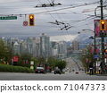 The cityscape of Vancouver, Canada 71047373