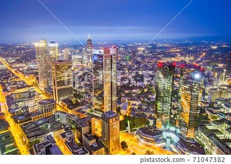 Frankfurt, Germany Cityscape 71047382
