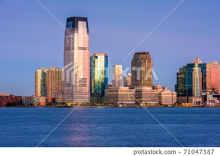 Exchange Place, New Jersey, USA 71047387