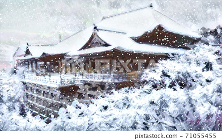 清水寺大雪 71055455
