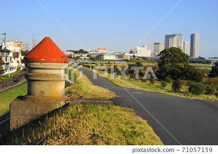 October Setagaya 384 Water intake facility, Kinuta Water Purification Plant 71057159