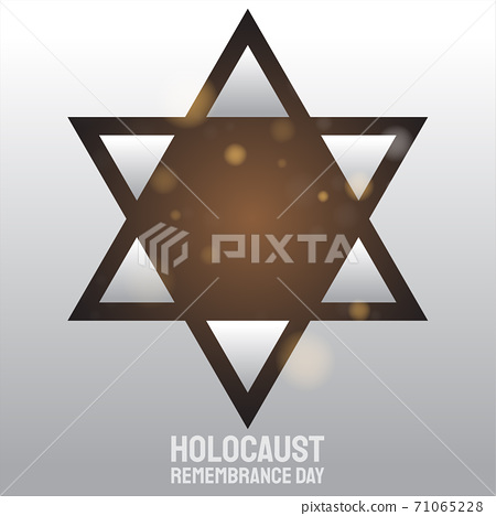 star  vector for holocaust remembrance day 71065228