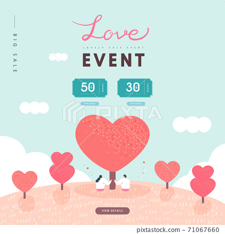 Valentine, shopping,event,banner,event day 71067660