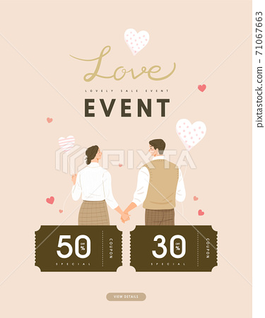 Valentine, shopping,event,banner,event day 71067663