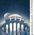 Amazing cute christmas train 71076460