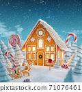 Amazing fairy Christmas house 71076461