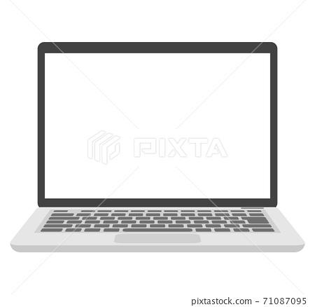 Laptop front 71087095