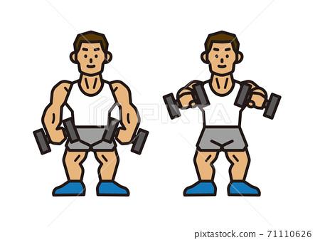 健身房訓練 71110626