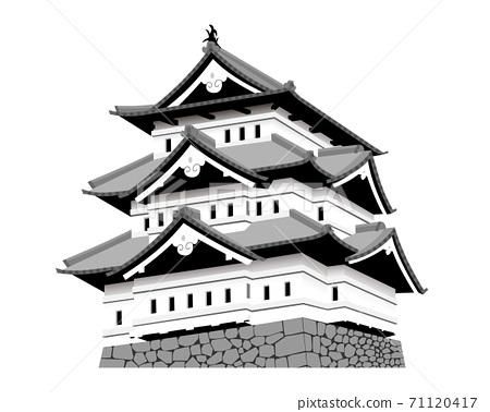 弘前城城堡塔 71120417