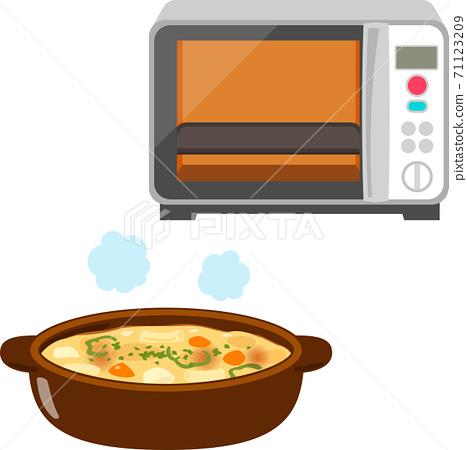 穀物和烤箱範圍 71123209