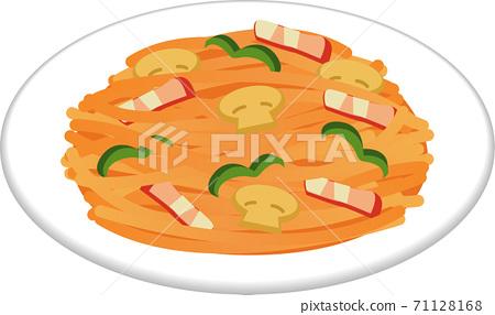 意大利麵條意大利面 71128168