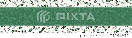 Christmas banner / landscape 71144953