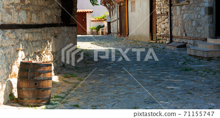 street of the old town 71155747