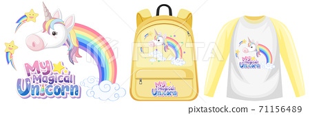 Set of unicorn outfit 71156489