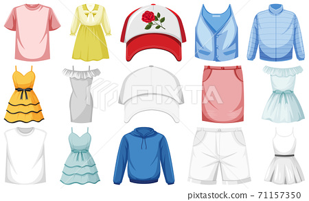 Set of clothes mock up 71157350