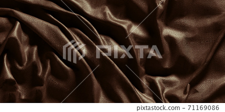 Abstract dark wrinkle fabric 71169086