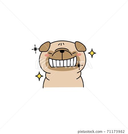 帕格與閃閃發光的牙齒 71173982