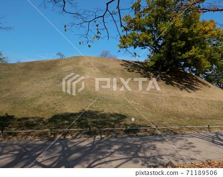가을의 공원 풍경 71189506